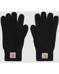 Carhartt WIP - Watch Gloves In Black - Lyst