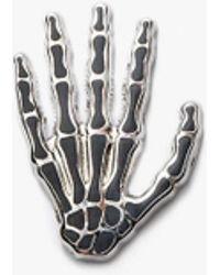 Prize Pins - Skeleton - Black & Silver - Lyst