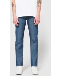 Naked & Famous - Weird Guy Sunrise Selvedge - Lyst