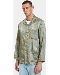 Dries Van Noten - Crocus Shirt In Aqua - Lyst