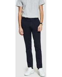 Norse Projects - Aros Slim Light Stretch Pant In Dark Navy - Lyst