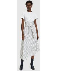 JW Anderson - Tie-waist Patchwork Skirt - Lyst