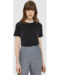 Which We Want - Thalia Short Sleeve Top In Black - Lyst