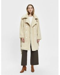 House Of Sunny - Teddy Upscale Coat - Lyst