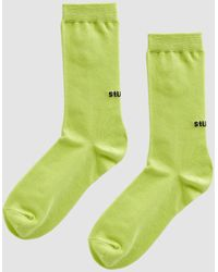 Stussy - Everyday Crew Sock - Lyst