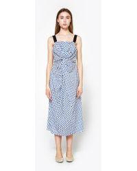 Caron Callahan - Donna Dress In Indian Print - Lyst