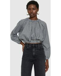 Toit Volant - Lafayette Gingham Top - Lyst