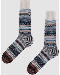 Chup - Crew Sock In Salt - Lyst
