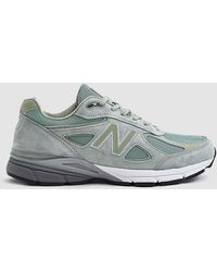 New Balance - 990 Trainer In Silver Mint - Lyst