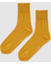 Hansel From Basel - Trouser Crew Sock In Marigold - Lyst