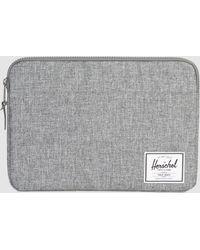 "Herschel Supply Co. - Anchor 13"" Macbook Sleeve In Black - Lyst"