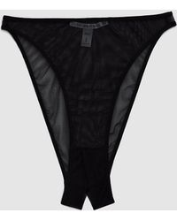 The Great Eros - Canova Ouvert Mesh Panty - Lyst