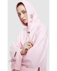 Collina Strada | Earring Hoodie In Barbie Pink | Lyst