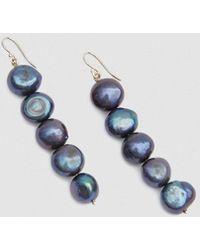 Trademark | Drop Baroque Pearl Earrings | Lyst