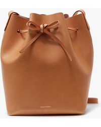 Mansur Gavriel   Bucket Bag Cammello/rosa   Lyst
