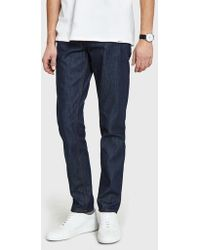Norse Projects - Norse Slim Denim In Raw - Lyst