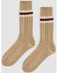 Anonymous Ism - Wool Tilden Crew Sock - Lyst