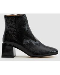 LOQ - Lazaro Crinkle Patent Ankle Boot - Lyst