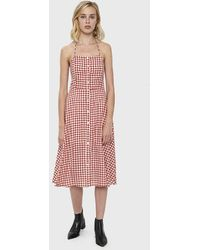 31c53c72ed1 Farrow Lucy Dress in Natural - Lyst