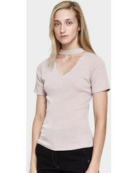 Which We Want - Cut-out Tee - Lyst