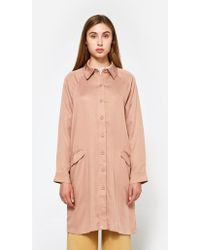 Farrow | Chore Coat In Dusty Pink | Lyst