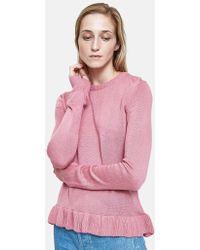 Farrow - Pat Jumper In Pink - Lyst