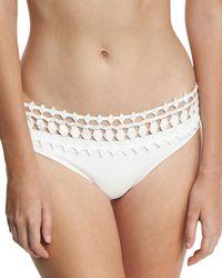 Ále By Alessandra - Free Spirit Lace California Swim Bikini Bottom - Lyst