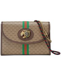 21a6b277825 Lyst - Gucci Ophidia GG Small Shoulder Bag in Brown