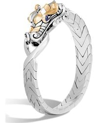 John Hardy - Men's Legends Naga Dragon Sterling Silver & 18k Gold Chain Bracelet - Lyst