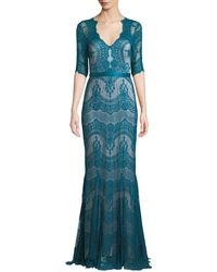 Catherine Deane - Kelly Tulle & Lace Illusion Gown W/ Swiss Dots - Lyst