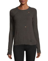 Bailey 44 - Cinderella Long-sleeve Distressed Pullover Sweater - Lyst