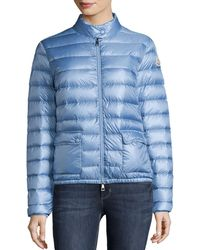 Moncler - Lans Collared Down Jacket - Lyst