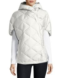 The North Face | Far Northern Quilted Capelet | Lyst