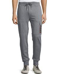 Moncler - Men's Jogger Trouser Pants With Cargo Pockets - Lyst