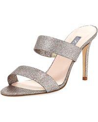 SJP by Sarah Jessica Parker - Blossom Glitter Slide Sandal - Lyst