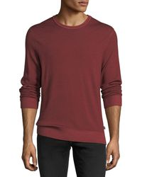 Michael Kors - Washed Wool Crewneck Sweater - Lyst