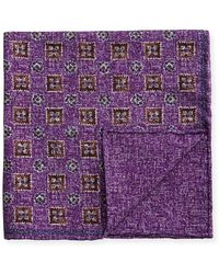 Brunello Cucinelli - Neat Reversible Pocket Square - Lyst