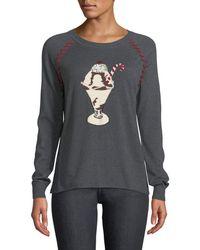 Lisa Todd - Sundae Intarsia Cashmere Sweater - Lyst