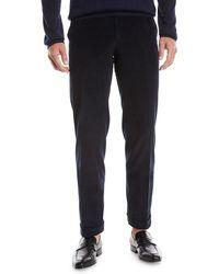 Brioni - Men's Pinwale Corduroy Dress Pants - Lyst