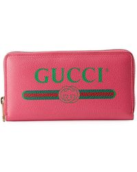 b63cbc29b24a Gucci Vintage Web Gg Canvas Wallet in Brown - Lyst