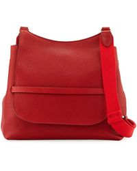 The Row - Sideby Grained Leather Shoulder Bag - Lyst
