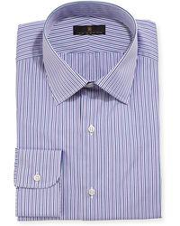 Ike Behar - Gold Label Striped Dress Shirt - Lyst