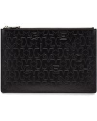 Givenchy - Star-embossed Medium Pouch Clutch Bag  - Lyst