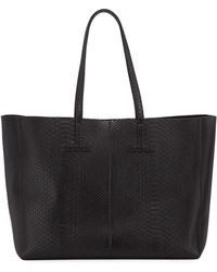 Tom Ford - Large Python T Tote Bag - Lyst