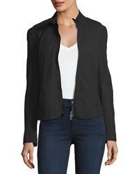 ATM | Lamb Leather Moto Jacket | Lyst