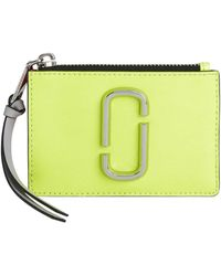 Marc Jacobs - Colorblock Zip Card Wallet - Lyst