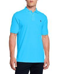 Ralph Lauren - Men's Logo-embroidered Polo Shirt Blue - Lyst