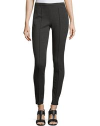 Lafayette 148 New York - Pintucked Skinny Pants - Lyst