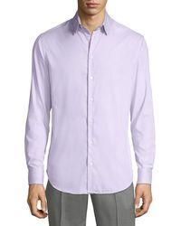 Giorgio Armani - Men's Micro Neat Sport Shirt - Lyst