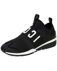 DSquared² - Men's Icon Neoprene & Leather Trainer Sneakers - Lyst
